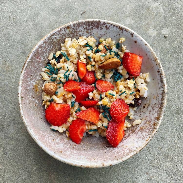 Ricetta riso integrale dolce per colazione Il Punto Bio