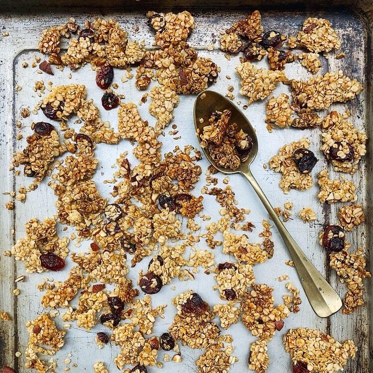 Ricetta granola senza zucchero Il Punto Bio