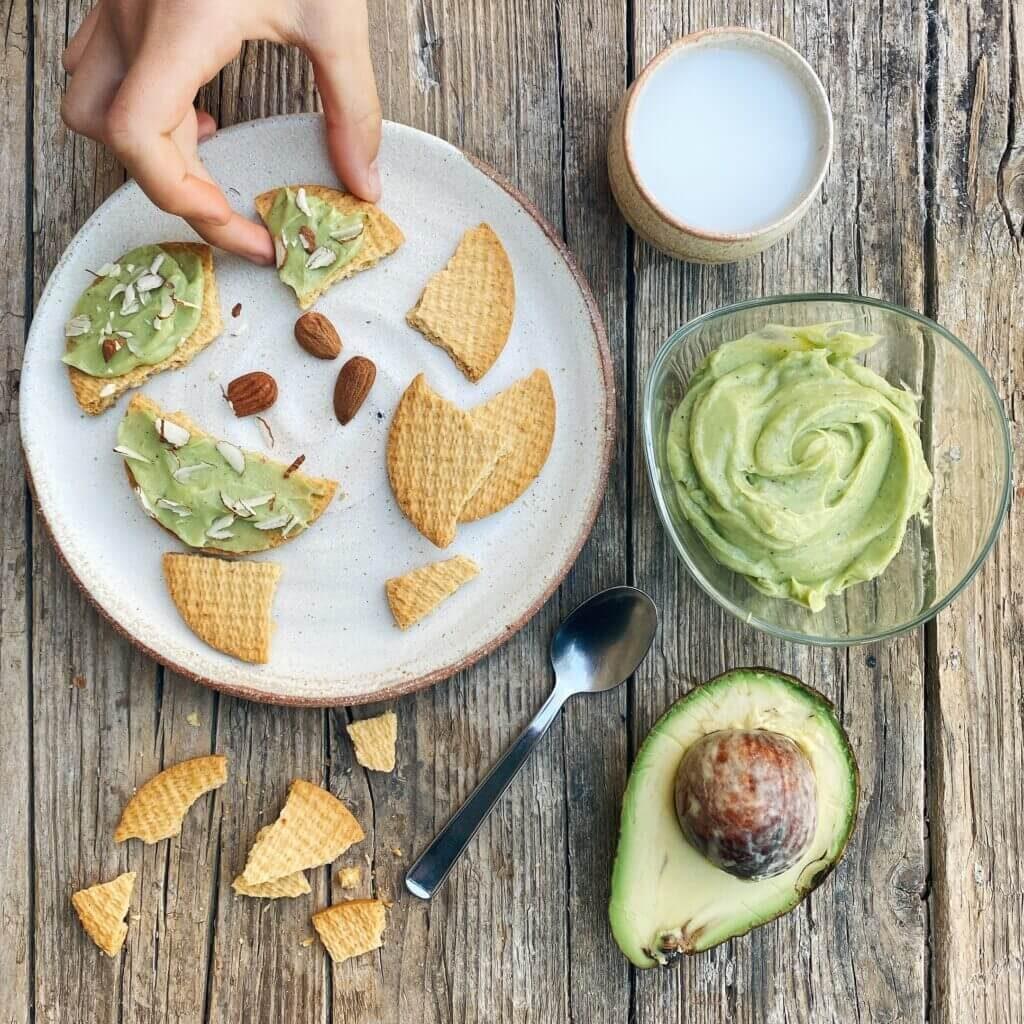 Mousse dolce di avocado ricetta Il Punto Bio