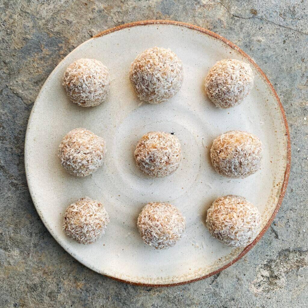 Ricetta palline crudiste baobab Il Punto Bio