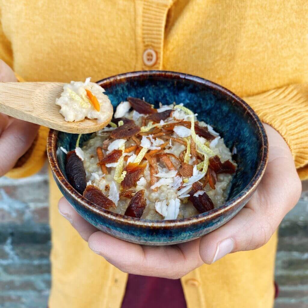 Ricetta porridge di miglio Il Punto Bio