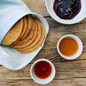 Ricetta pancakes proteici Il Punto Bio