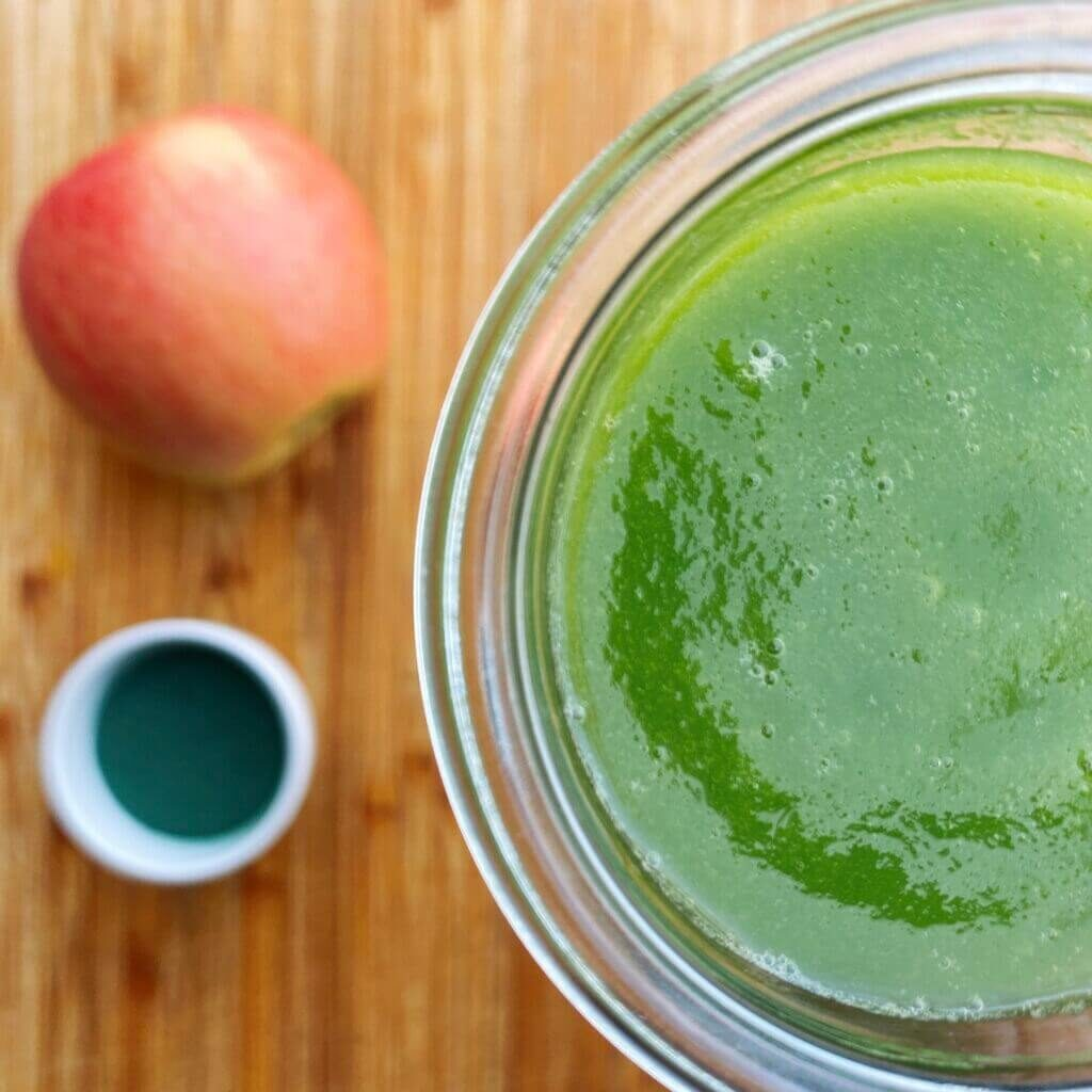 Ricetta green smoothie depurativo