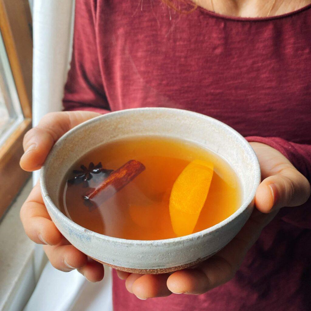 Ricetta succo di mela speziato Il Punto Bio