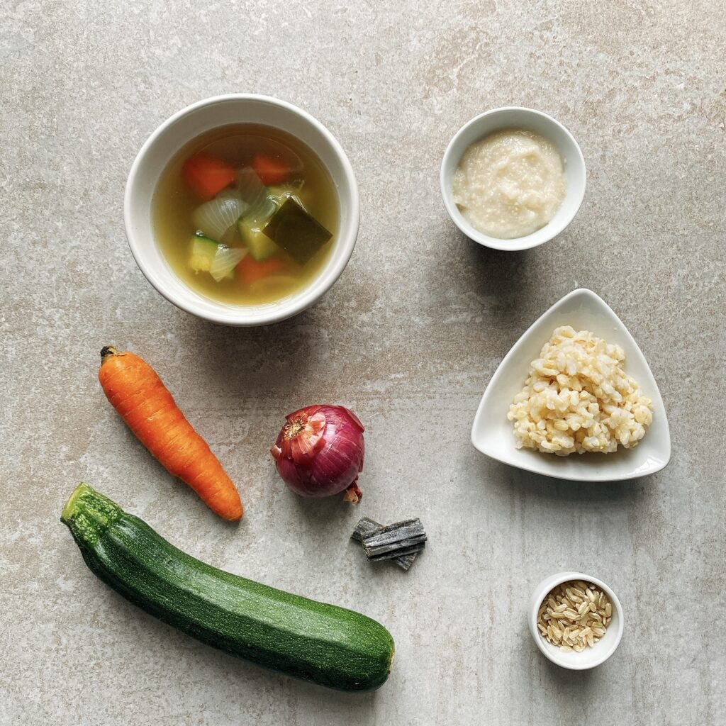Brodo di verdure svezzamento